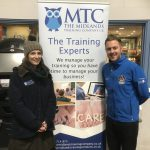 Coventry Blaze    first aid competition with MTC at the Coventry Blaze match presented by JD from Free Radio