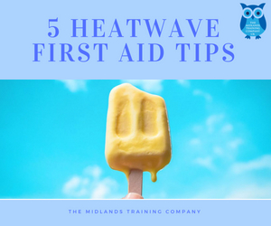 Heatwave first Aid Tips