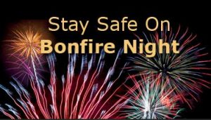 stay safe this bonfire night first aid November
