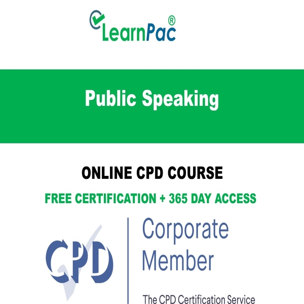 Public Speaking - Online CPD Course